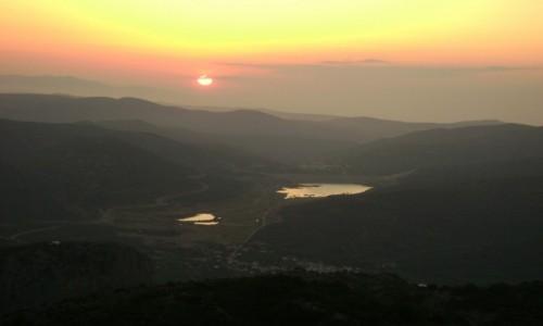 Zdjęcie GRECJA / -Lassithi płaskowyż / Kreta / - zachód słońca-