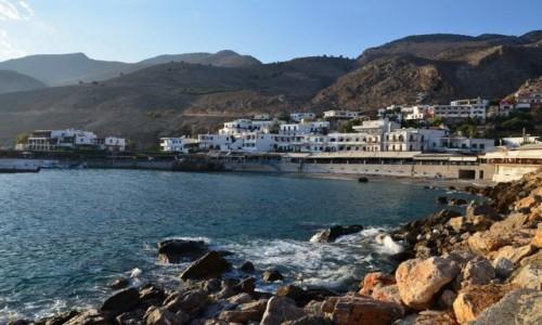 Zdjecie GRECJA / Kreta / Hora Sfakion / u st�p g�r...
