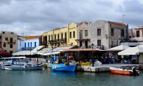 GRECJA / Kreta / Retimno / stary port