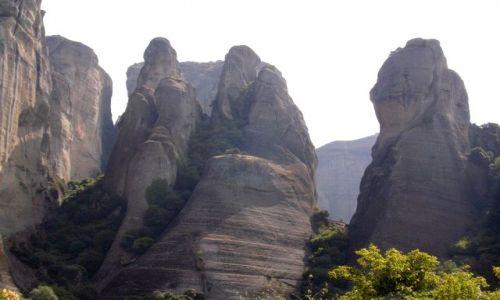 Zdjęcie GRECJA / Tesalia / Meteory / Skały