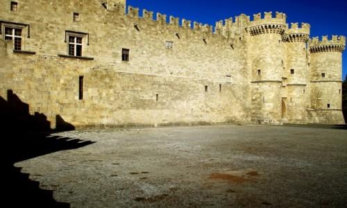 Zdjecie GRECJA / Rodos / Stare Miasto-Rodos /  Pałac Wielkich Mistrzów Zakonu Joannitów