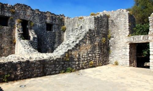 Zdjecie GRECJA / Korfu / Kassiopi / Ruiny twierdzy