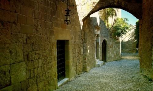 GRECJA / Rodos / Stare Miasto-Rodos / Uliczkami Starego miasta-2