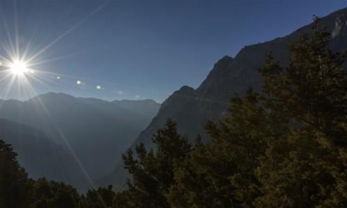 Zdjęcie GRECJA / KRETA -pasmo gór Lefka Ori / wąwóz Samaria / rześki poranek