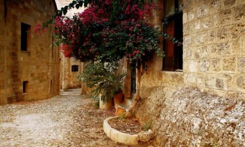 GRECJA / Rodos / Stare Miasto-Rodos / kameralnie, w greckim stylu.
