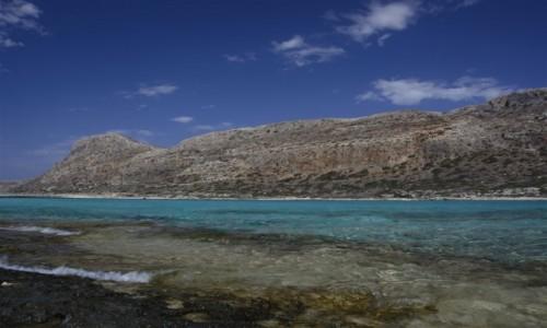 Zdjęcie GRECJA / KRETA  / LAGUNA BALOS / turkusy, błękity, zielenie