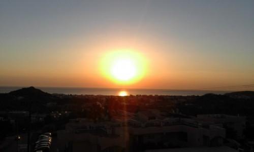Zdjecie GRECJA / Rodos / Faliraki / Wschód słońca - Rodos