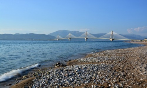 Zdjęcie GRECJA / Grecja / Patras / Most Rio- Antirio