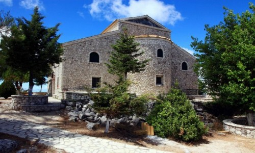 Zdjęcie GRECJA / Korfu / Góra Pantokrator / Kościół  pod wezwaniem Przemienienia Pańskiego