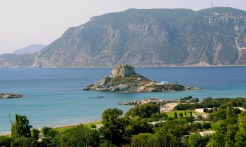 Zdjęcie GRECJA / Kos / Kefalos /  Agios Stefanos Beach
