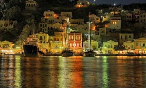 Zdjecie GRECJA / Dodekanez / Symi / port