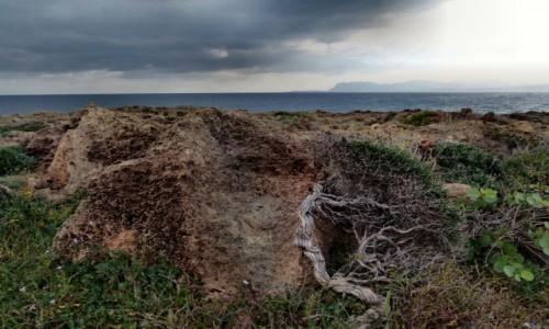 Zdjęcie GRECJA / Kreta / Chania / skały wylkaniczne w okolicach Chani
