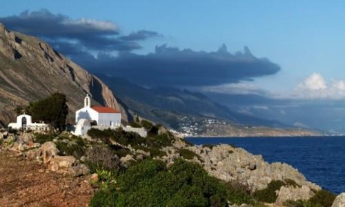 Zdjecie GRECJA / Kreta / Sfakia / Loutro