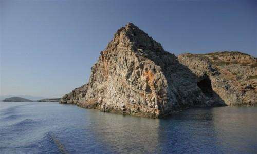 Zdjęcie GRECJA / Kreta / Morze Kreteńskie (okolice Spinalongi) / wyrzeźbione wiatrem