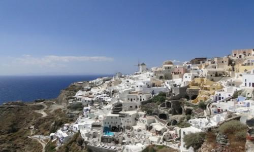 GRECJA / Santorini / Oia / Miejsce jak z bajki.