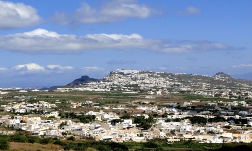 GRECJA / Santorini / okolice Pyrgos / Santoryńskie widoki