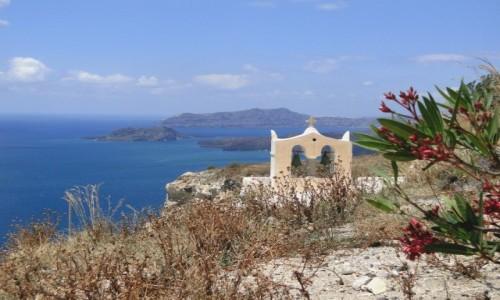 GRECJA / Santorini / okolice Megalohori / Kaliste - najpiękniejsza...