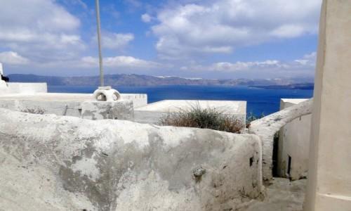 GRECJA / Santorini / Thirasia / W barwach Grecji