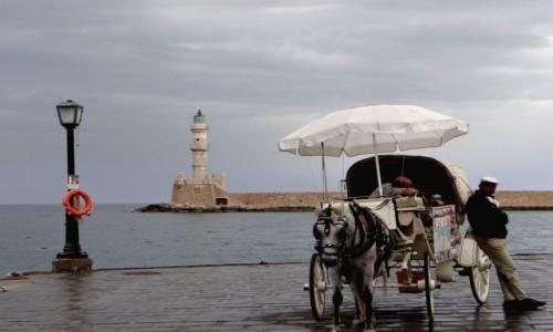 GRECJA / Kreta / Chania / Pochmurny dzień w Chanii.