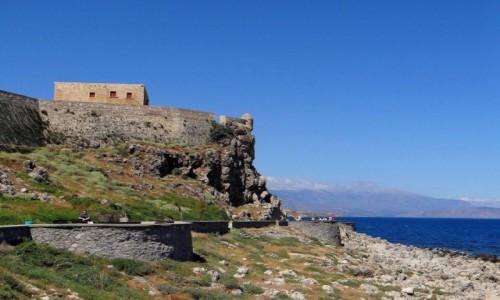 GRECJA / Kreta / Rethymnon / Twierdza  Rethymnon.