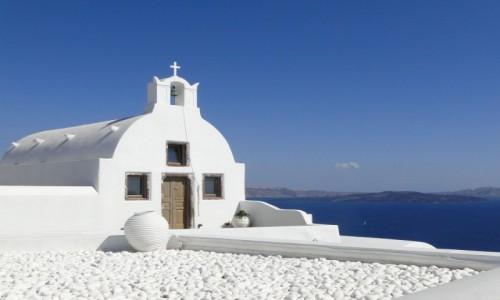 Zdjęcie GRECJA / Santorini / Oia / Santoryński widoczek