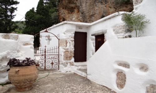 GRECJA / Kreta / Azogires / Migawki z Krety - klasztor Agi Pateres