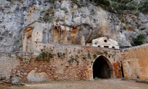 Zdjęcie GRECJA / Kreta / Półwysep Akrotiri / Migawki z Krety - klasztor Katholiko