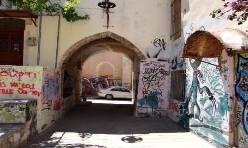 Zdjecie GRECJA / Kreta / Chania - stare miasto / Zakątki starej