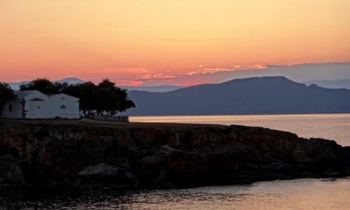 Zdjęcie GRECJA / Kreta / Kato Daratso. / Kreteński zmierzch.