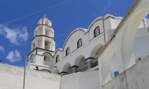 Zdjecie GRECJA / Santorini / Pyrgos / Gdzieś na Santo
