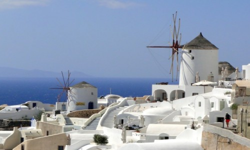 Zdjecie GRECJA / Santorini / Oia / Niezapomniana S