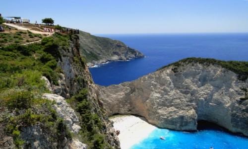 Zdjecie GRECJA / Zakynthos / Zatoka Wraku. / Z serii: wspomnienia z Grecji Zakynthos