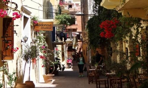 Zdjecie GRECJA / Kreta / Chania / Migawki z Krety - stare miasto Chania
