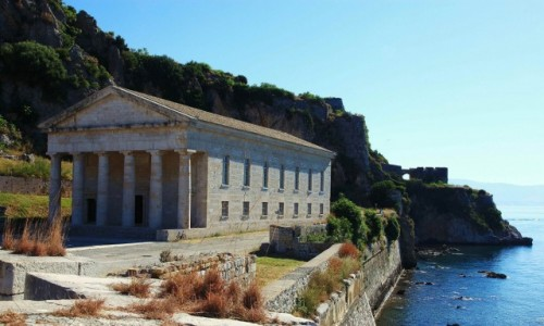 Zdjęcie GRECJA / Korfu / Stara Forteca  / Kościół św. Jerzego