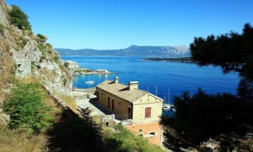 Zdjęcie GRECJA / Korfu / Stara Forteca  / Patrząc z góry