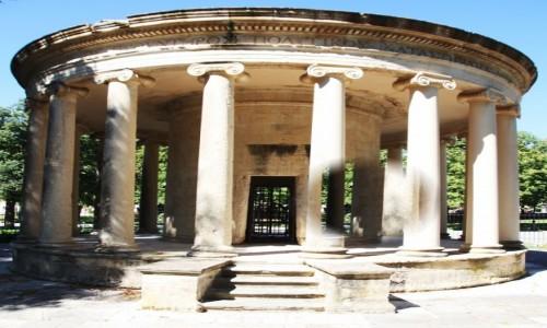 Zdjecie GRECJA / Korfu / Okolice Starej Fortecy  / Monument pamięci Maitlanda
