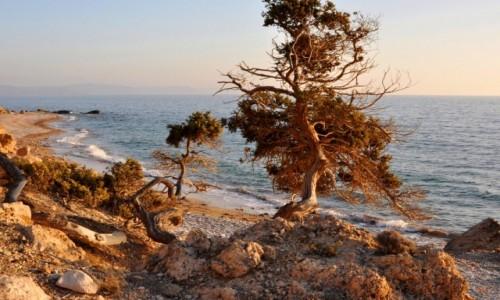 GRECJA / Rodos / zachodnie wybrzeże / Wybrzeże
