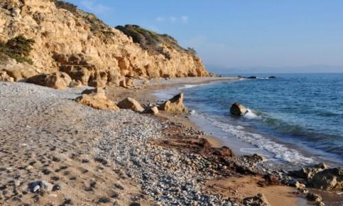 Zdjecie GRECJA / Rodos / zachodnie wybrzeże / Wybrzeże