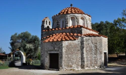 Zdjęcie GRECJA / Rodos / okolice Eleoussa / Kościół św. Mikołaja