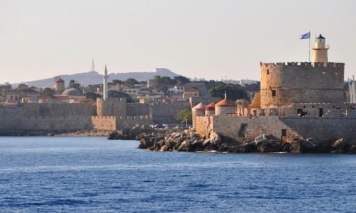 Zdjecie GRECJA / Dodekanez / Rodos / Widok na Rodos