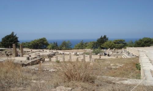 Zdjecie GRECJA / Rodos / starożytne Kamiros / Z serii: urlop