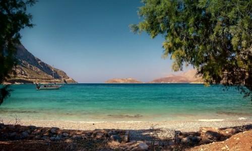 Zdjęcie GRECJA / Dodekanez / Arginonta  / Arginonta beach Kalymnos