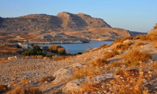 Zdjęcie GRECJA / Dodekanez / Rodos / Wieczorem