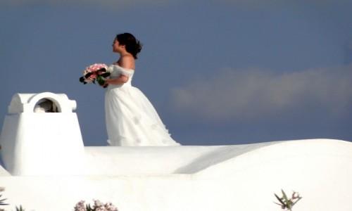 GRECJA / Santorini / Oia / Santoryńska sesja ślubna.