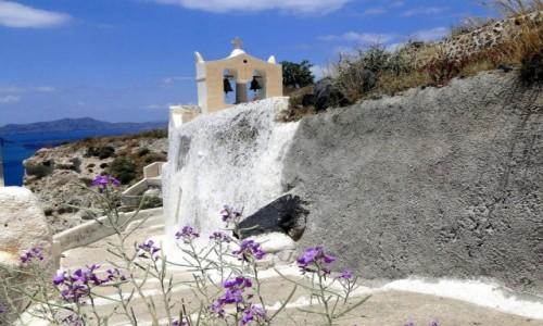 Zdjecie GRECJA / Santorini / okolice Megalohori / Wspomnienie z S