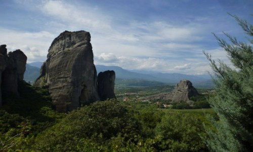 GRECJA / Grecja środkowa / Meteory / Meteory
