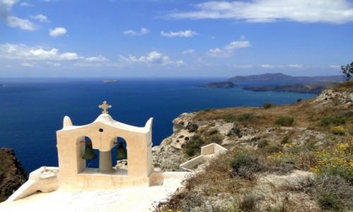 Zdjecie GRECJA / Santorini / okolice Megalohori / Wspomnienie z Santorini.