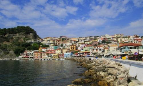GRECJA / Epir / Parga / Wesołe miasteczko