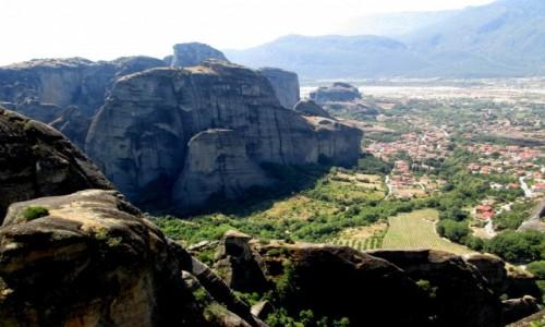 Zdjęcie GRECJA / Tesalia / okolice Kalampaki / Kolosy Tesalii