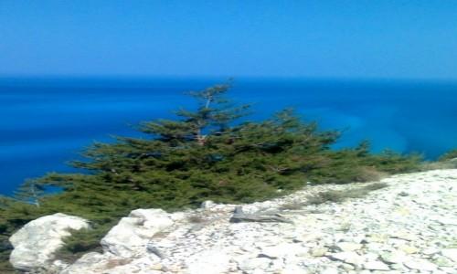 Zdjecie GRECJA / Kefalonia / okolice Myrtos / Niebo w morzu morze w niebie